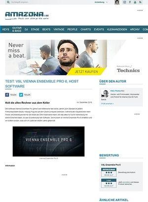 Amazona.de VSL Vienna Ensemble Pro 6
