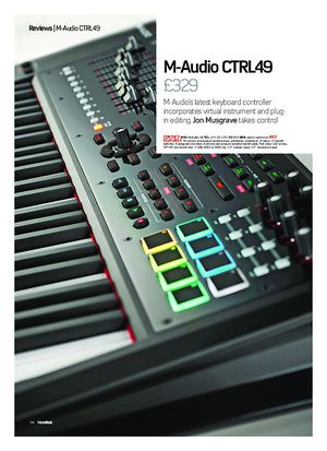 Future Music M-Audio CTRL49
