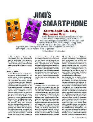 Gitarre & Bass Source Audio L.A. Lady / Kingmaker Fuzz