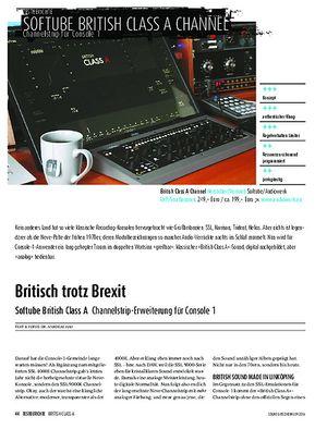 Sound & Recording Softube British Class A Channelstrip-Erweiterung für Console 1