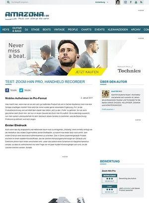 Amazona.de Zoom H4n Pro