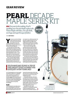 Rhythm Pearl Decade Maple Series Kit