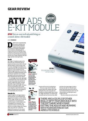 Rhythm ATV AD5 E-Kit Module