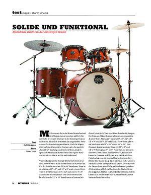 Sticks Mapex Storm Drums