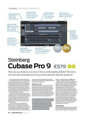 Computer Music Steinberg Cubase Pro 9