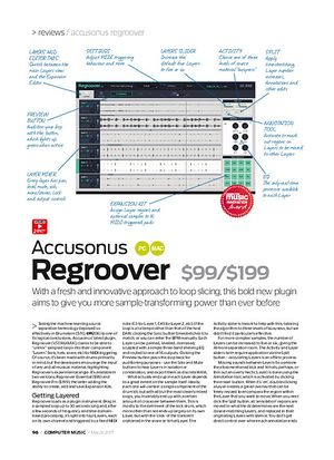 Computer Music Accusonus Regroover