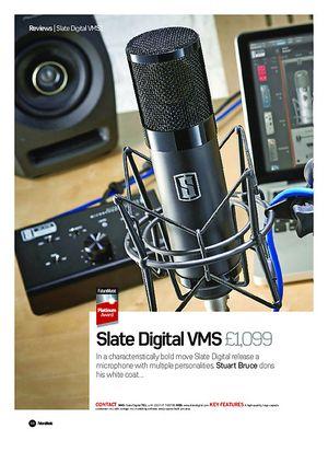 Future Music Slate Digital VMS