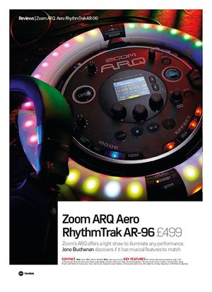 Future Music Zoom ARQ Aero RhythmTrak AR-96