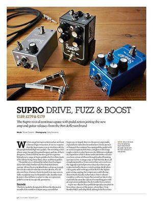 Guitarist Supro 1305 Drive