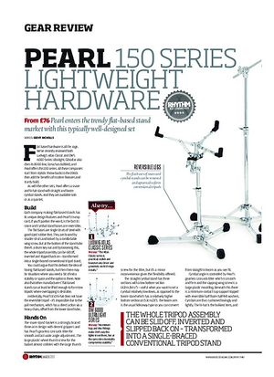 Rhythm Pearl 150 Series Lightweight Hardware
