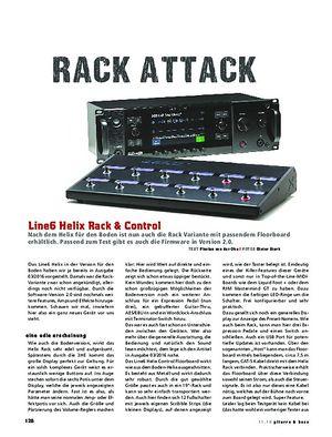 Gitarre & Bass Line6 Helix Rack & Control