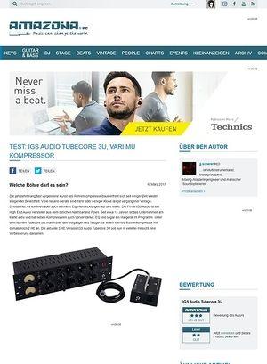 Amazona.de IGS Audio Tubecore 3U