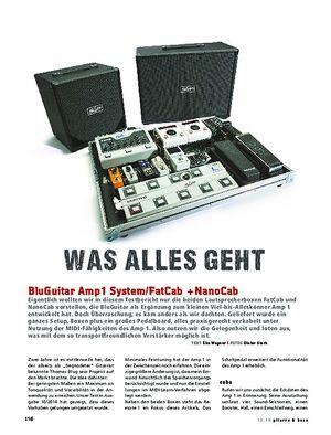 Gitarre & Bass BluGuitar Amp1 System inkl. FatCab + NanoCab