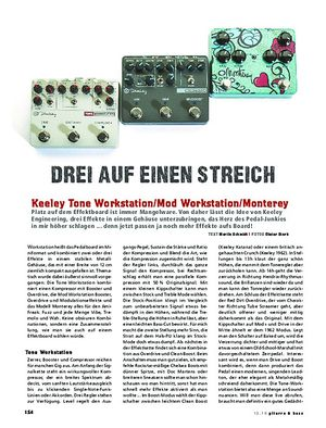 Gitarre & Bass Keeley Tone Workstation, Mod Workstation, Monterey