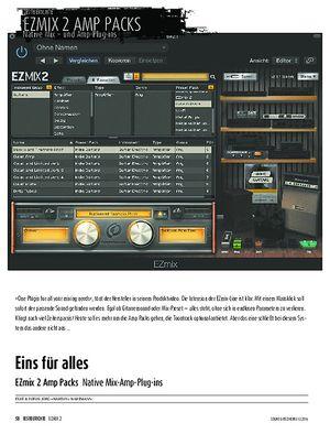 Sound & Recording EZmix 2 Amp Packs - Native Mix-Amp-Plug-ins