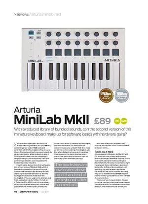Computer Music Arturia MiniLab MkII