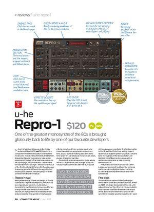 Computer Music u-he Repro-1