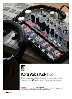 Future Music Korg Volca Kick
