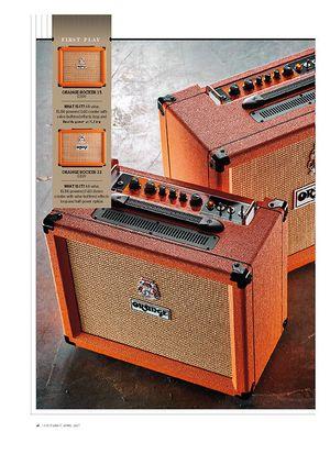 Guitarist Orange Rocker 32