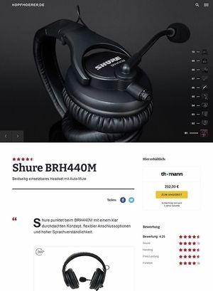 Kopfhoerer.de Shure BRH 440M
