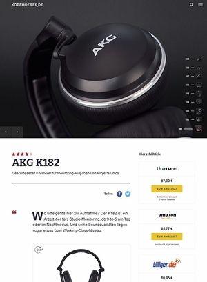 Kopfhoerer.de AKG K-182