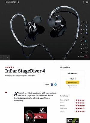 Kopfhoerer.de InEar StageDiver SD-4