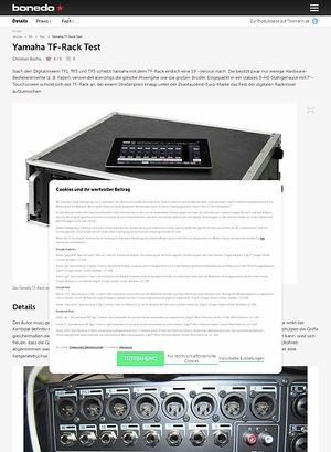 Bonedo.de Yamaha TR-Rack