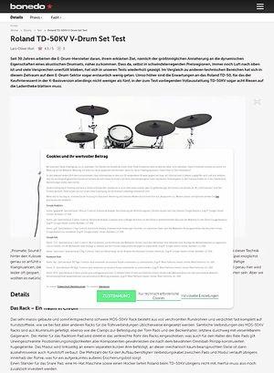 Bonedo.de Roland TD-50KV V-Drum Set