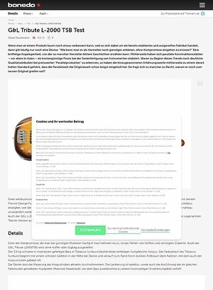 Bonedo.de G&L Tribute L-2000 TSB