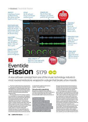 Computer Music Evenide Fission