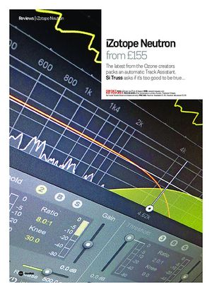 Future Music iZotope Neutron
