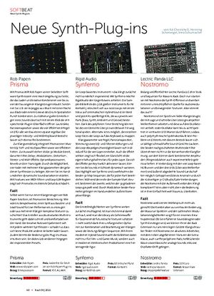 Beat Neue Synth-Plug-ins