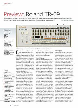Beat Roland TR-09