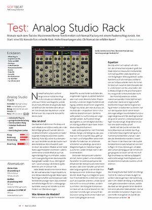 Beat Analog Studio Rack