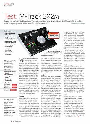 Beat M-Track 2X2M