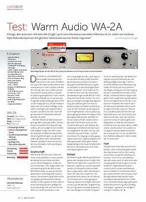 Beat Warm Audio WA-2A