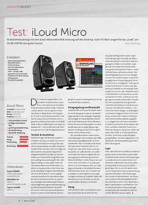 Beat iLoud Micro Monitor + Audient iD4