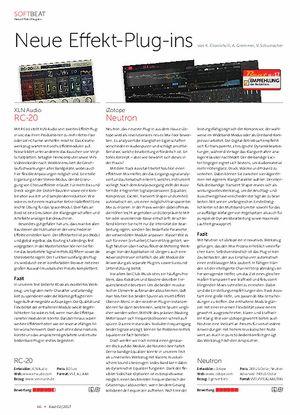 Beat Softbeat Neue Effekt-Plug-ins
