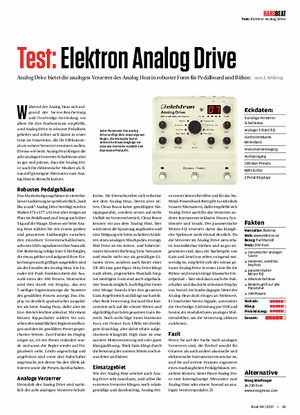 Beat Elektron Analog Drive