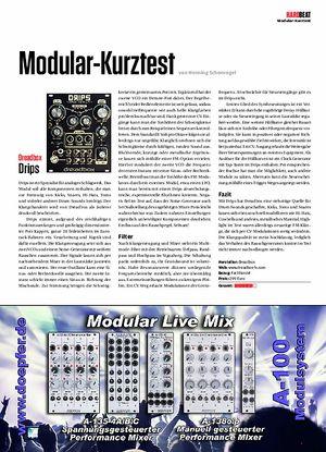 Beat Modular-Kurztest Dreadbox Drips