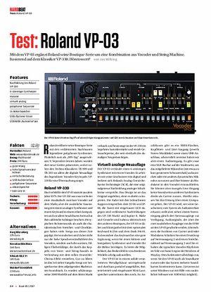 Beat Roland VP-03