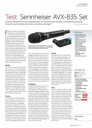 Beat Sennheiser AVX-835 Set
