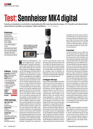 Beat Sennheiser MK4 digital