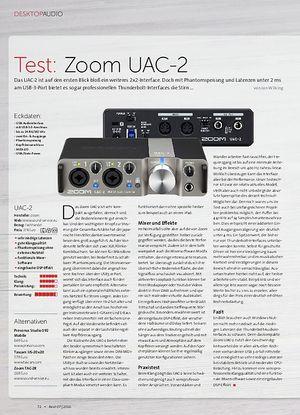 Beat Zoom UAC-2, Aston Halo, Røde VideoMic Me