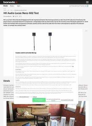 Bonedo.de HK Audio Lucas Nano 602