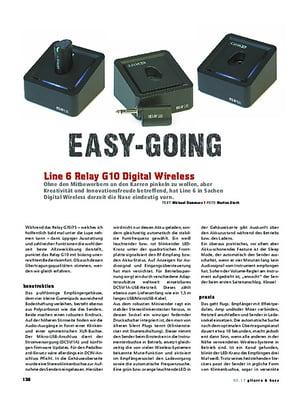 Gitarre & Bass Line 6 Relay G10 Digital Wireless