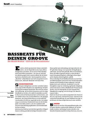 Sticks Meinl Bassbox