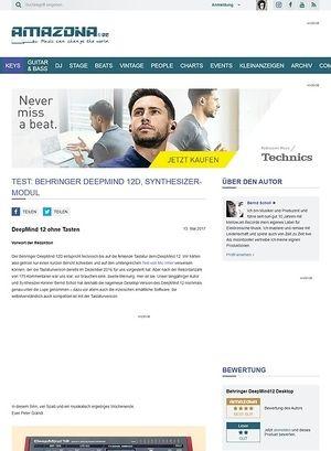 Amazona.de Behringer DeepMind 12 Desktop