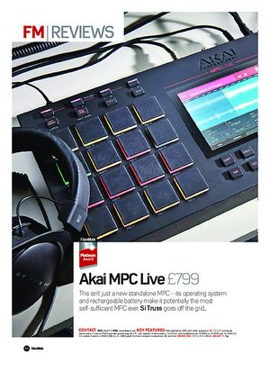 Future Music Akai MPC Live