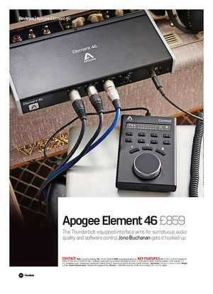 Future Music Apogee Element 46
